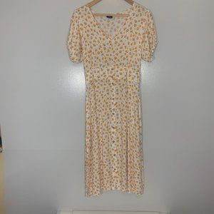 Cotton On Small Yellow Long Dress